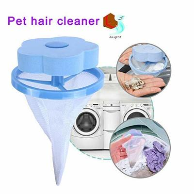 yangGradel Floating Pet Fur Catcher Reusable Hair Remover Tool for Washing Machine