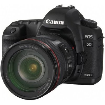 Canon – EOS 5D Mark II – Digital camera – SLR – 21.1 Mpix – Canon EF 24-105mm IS lens – optical zoom: 4.3 x – supported memory: CF, Microdrive