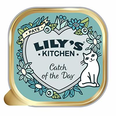 Lily's Kitchen Adult Catch of the Day Complete Wet Cat Food, 19 x 85 g