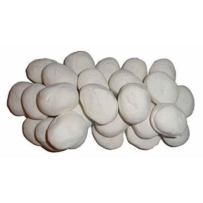 20 White Gas fire Ceramic Pebbles Replacements Bio Fuels Ceramic In Coals 4 You Packing, Black