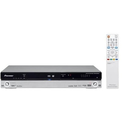 Pioneer DVR-550HX-S – 1080p DVD Recorder – With 160GB Hard Disk & Freeview