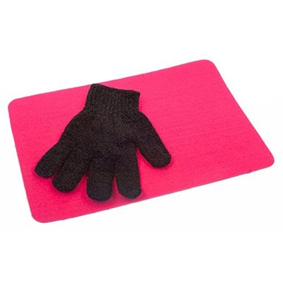 Cloud 9 Heat Proof Heat Resistant Protection Glove & Heatproof Mat for Hair Straighteners/Wands Tongs Gorgerous Pink