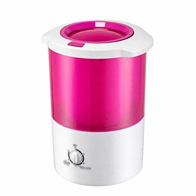 JYDQT Clothes Dryer?small Travel Dryer Dry Barrel Single Tube a Mini Clothes Washing Machine Anywhere Ideal for Cleaning Clothes on the Go (Color : B)