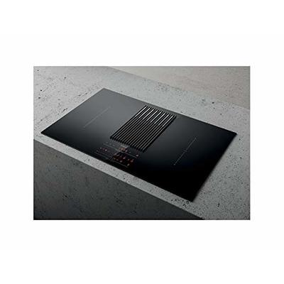 Elica hob with hood and scale NIKOLATESLA LIBRA PRF0147744-Black-Duct Out