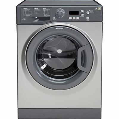 Hotpoint Extra WMXTF942G Freestanding 9kg Graphite Washing Machine with Up to 1400rpm Spin Speed, A++ Energy Rating and Delay Timer