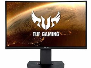 Asus 23.6″ TUF Curved Gaming Monitor (VG24VQ) 1920 x 1080 1ms 2 HDMI DP 144Hz VE