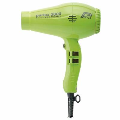 Parlux – Dryer Hair 3800 Ionic & Ceramic Green Low Noise 2100W Very Lightweight
