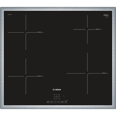 Bosch Serie 4pue645bb1e Integrated–Plate (Built-in, Induction Plate, Ceramic, Black, 2200W, 14.5cm)