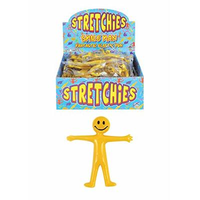 Henbrandt 20 x Stretchy Smile Men Party Bags Fillers