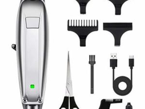 MIGICSHOW Hair Clippers for Men Cordless Hair Trimmer Electric Haircut Kit Ultra Quiet Rechargeable for Men and Family Use with Barber Beard Comb