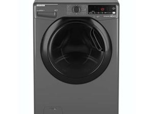 Hoover Dynamic Next DWOAD69AHF7G Freestanding Washing Machine, WiFi Connected, 9kg Load, 1600rpm spin, Graphite