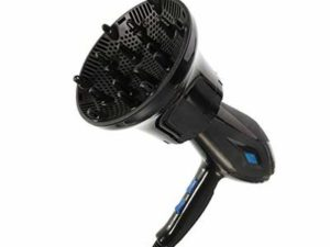 rainday Universal Diffuser,Hair Dryer Diffuser Suitable for 1.4-inch to 2.7-inch Hair Dryer,Adjustable Hair Dryer Diffuser Nozzle for Curly or Wavy Hair Styling(Black)