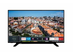 Toshiba 43U2963DB 43-Inch Smart 4K Ultra-HD LED TV with Freeview Play (2019 Model)
