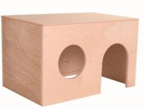 NEW NATURAL WOOD RODENT Guinea Pig House Small  Animal Cage