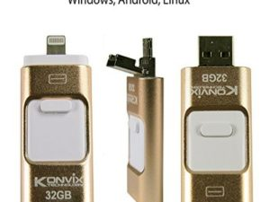 I-USB-Storer 32 GB for iPhone, iPad, Mac Os, Windows, Linux, Android