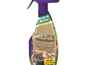 Defenders Cat and Dog Repellent Spray (Humane Treatment, Deters Cats and Dogs from Garden and Patio Areas, Covers up to 225 sq m), 750 ml