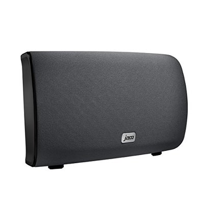 Jam Audio Symphony Wireless Wi-Fi Speaker with Alexa built-in, Play 1 / Multi-Room, 2.1 Stereo Sound, Treble + Bass Adjustment, Stream Your Personal Music Library, Spotify etc. with Free JAM App