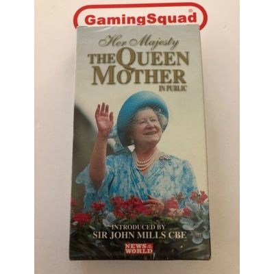 The Queen Mother in Public NEW VHS Video Retro, Supplied by Gaming Squad
