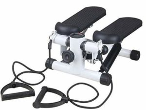NOBRAND 2in1 Stepper With Power Ropes,Mute Hydraulic Handrail Steppers, Multifunction Household Mini Stepper Slimming