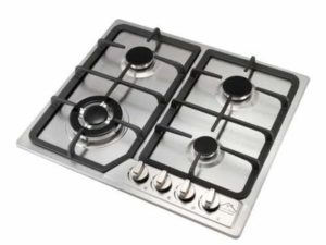 Anmas Home 4 Burner 23″(58CM) Gas Cooktop Stainless Steel Hob NG & LPG Conversion Kit Cook Top Stove