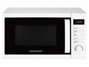 Cookology Microwave, 800W Freestanding, 20 Litre Capacity, 25cm Turntable (White)