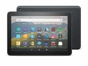 All-New Fire HD 8 Tablet, 8″ HD display, 32 GB, Black without Special Offers, designed for portable entertainment
