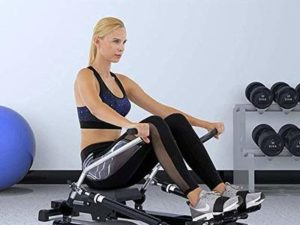 NXX Sport Rowing Machine Hydraulic Resistance And Free-Motion Arm with 120Kg Load Capacity And Lcd Display