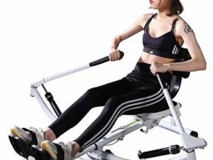 Cxmm Life HS Sunny health & fitness full-sport rowing machine hydraulic resistance and free-motion arm with 330 lb load capacity and lcd display