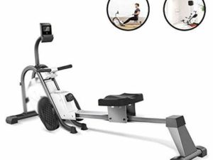 Household Control Folding Rowing Machine 10 Adjustable Magnetic Resistance Home Aerobics Fitness Rowing Fitness Equipment Men And Women Weight Loss Fitness Rowing Machine