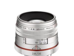 Pentax HD DA Limited 35mm F2.8 Macro Lens – Silver