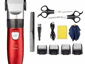 Hair Clippers High-Performance Cordless Clipper Hair Trimmer Haircut Tool with Guide Combs Home Barbers Professional Hair Shaver Mens Adult Kids Hair Cutting Kit for Men, Father, Husband,