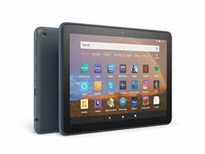All-New Fire HD 8 Plus tablet, 8″ HD display, 64 GB, Slate with Special Offers, Our best 8″ tablet for portable entertainment