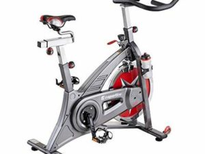 inSPORTline Signa Indoor Cycling Spinning Bike | Ultra-Quiet Fitness Bike Fitness Cardio Trainer | Workout Equipment for Home | Adjustable Seat | 18 KG flywheel