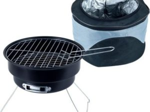 Grande Chef 75-00718 Portable Chill and Grill BBQ Set with Chiller