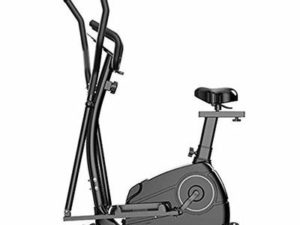XIAOWEI Elliptical cross trainer 3-in-1 multifunction space walker 8-speed resistance setting 10 kg magnetron flywheel adjustable seat aerobic equipment for the home office
