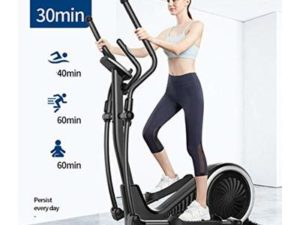 XIAOWEI Cross trainer 3-in-1 magnetic control 32 gears adjustable main body foldable no installation walking machine 150 kg load
