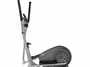 LK-HOME Elliptical Cross Trainer,Fitness Weight Loss Machine, Elliptical with 8 Levels of Resistance And Heart Rate Sensor,Cardio Fitness Workout Machine,Gray