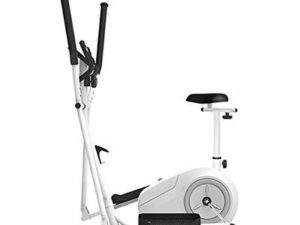 XIAOWEI 3 in 1 Magnetic Control Cross Trainer Space Walker Machine Gym Household Portable Small Ultra Quiet Equipment Elliptical Trainer Spinning Treadmill Exercise Bike