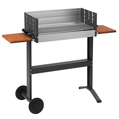 Dancook 5300 – Large Barbecue Box Grill with Side-tables and Wheels.