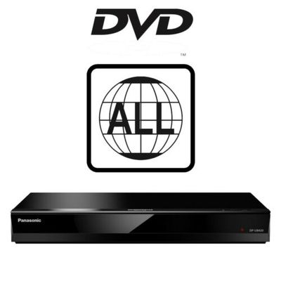 Panasonic DP-UB420 Native 4K Ultra HD Blu-ray Player DVD MultiRegion DP-UB420EB