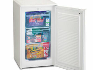 NEW UNDER COUNTER FREEZER IN WHITE + 2 YEARS GUARANTEE