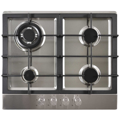 STATESMAN GH61SS 60CM GAS HOB STAINLESS STEEL WITH 2 YEAR WARRANTY