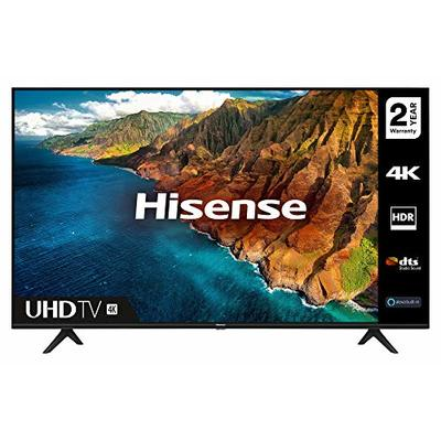 HISENSE 65AE7000FTUK 65-inch 4K UHD HDR Smart TV with Freeview play, and Alexa Built-in (2020 series) [Amazon Exclusive]