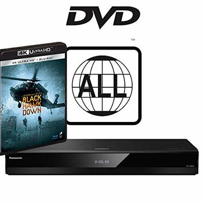 Panasonic DP-UB820 MULTIREGION for DVD Bundle with Black Hawk Down Ultra HD 4K Blu-ray Disc