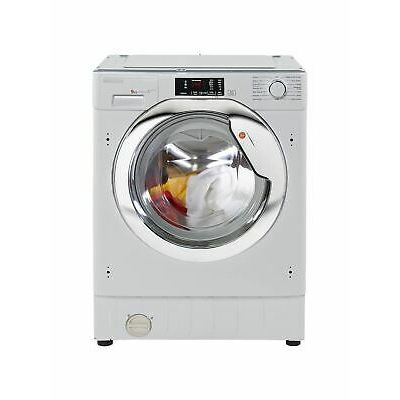 Hoover HBWM 914DC-80 Integrated Washing Machine, 9kg, A+++, 1400rpm, White