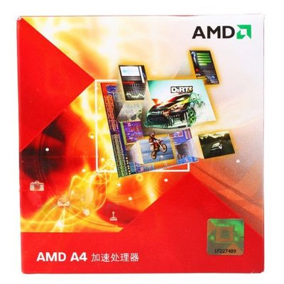 AMD Llano A4 3400 Dual Core 2.7GHz Processor with APU, Socket FM1, HD Graphics Controller