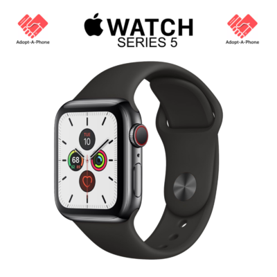 SEALED ? Apple Watch Series 5 | 40mm Space Gray | Cellular Unlocked Verizon AT&T