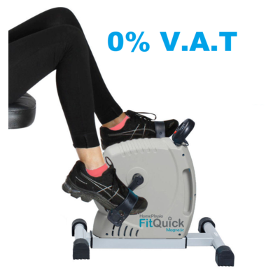FitQuick Premium Quality Magnetic Mini Exercise bike use with any chair VAT free