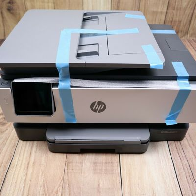 HP OfficeJet 8017 All-in-One Wireless Printer Touch Screen White & Grey