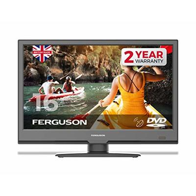 """Ferguson F1620F 16"""" Full HD LED TV with Built-in DVD Player, Satellite Tuner & Freeview T2 HD"""